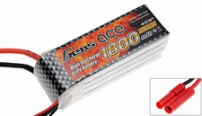 Gens ace LIPO 1800mAh 25C 14.8V lipo battery pack