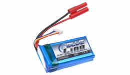 Blue LiPo 4-Cell 1000mAh 4S1P 14.8v 20C LiPoly Battery