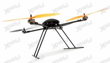 T580P+ Almost Ready To Fly Retractable  QuadCopter Drone Carbon Fiber Brushless/ESC/Gyro ARF