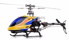 Dynam E-Razor 250-Pro RC Helicopter w/ CNC Upgraded Rotor Head, Brushless Motor+ESC, LiPo Battery (2.4G-Blue)