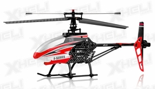MJX F645 2.4ghz 4 Channel Fixed Pitch Ready to Fly Helicopter (Red)