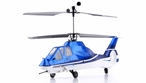 Exceed RC 2.4Ghz WarHawk 300 4-Channel Radio Remote Control RC Helicopter RTF Co-Axial - 100% Ready-to-Fly w/ Lipo Battery (Comanche Blue)