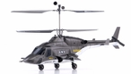 Exceed RC 2.4Ghz WarHawk 300 4-Channel Radio Remote Control RC Helicopter RTF Co-Axial AirWolf- 100% Ready-to-Fly w/ Lipo Battery (Black)