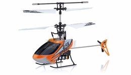 Mingji F-Series 501 RC Helicopter 4 Channel 2.4Ghz RTF + Transmitter (Orange)