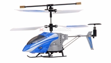 3 Channel Co-Axial Indoor Micro Palm Sized Helicopter (BLUE)