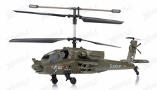 2.4Ghz 3 Channel UDI U10 Gunship Apache RC Helicopter
