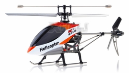 Double Horse 9116 RC Helicopter 4 Channel 2.4Ghz RTF with Gyro + Flashing Head and Tail LED Lights + LED Transmitter