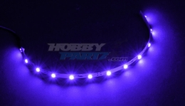 HobbyPartz Purple 12 LED Lights 79P-10204