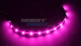 HobbyPartz Pink 12 LED Lights 79P-10207