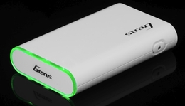Gens Ace Power Bank 3.7v 10400mAh Lithium Polymer Battery for iPhone, Android Phone, Cell Phone and Tablets