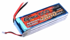 Gens ace 4000mah 3S1P 11.1V 25C Lipo battery pack