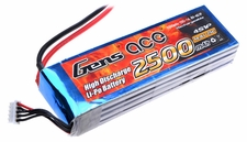Gens ace 2500mah 4S1P 14.8V 25C Lipo battery pack