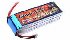 Gens ace 5300mah 3S1P 11.1V 30C Lipo battery pack
