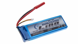 Blue Lipo 3-Cell 2650mAh 11.1v 3S1P 20C RC Battery