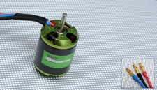 Exceed RC Helium 450 Brushless Motor 2220-3500kv for Trex 450 or compatible RC Helicopters