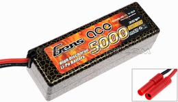 GENS ACE 5000mah 3S1P 11.1V 40C hard case Lipo battery Racing Approved Batteries