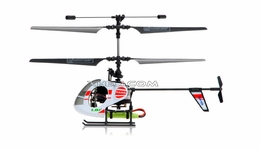 New Esky 2.4G Nano RTF 4 Channel Mini Helicopter (A) White RC Remote Control Radio