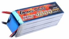 Gens ace 4000mah 6S1P 22.2V 25C Lipo battery pack