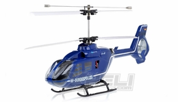 New Giant Size Art Tech RC 400 Class 4 Channel EC-135 Double Rotor Helicopter 2.4Ghz RTF AT-11141-400-EC135-RTF-24G