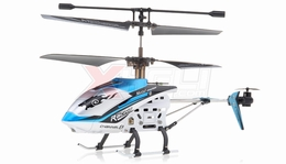 JXD 340 Drift King Infrared RC Helicopter 4 Channel RTF + Transmitter with Gyro (Blue)