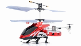Zhengrun 4 Channel Co-axial  Helicopter RTF w/ Built in Gyro (Red) RC Remote Control Radio
