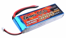 Gens ace 3800mah 2S1P 7.4V 25C Lipo battery pack