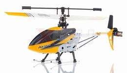 Double Horse 9103 Metal RC Helicopter 3 Channel RTF + Transmitter with Gyro (Yellow)