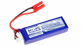 Sky Lipo 1800mAh 11.1V 20C Battery for RC Helicopter, Airplane and 1/16 Car