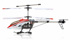 JDX 333 METAL 3 Channel RC Remote Control Helicopter w/Gyro RC Remote Control Radio (Red)