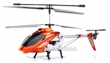 "Syma S031 3 Channel Huge Size 24"" Long Outdoor RC Helicopter Ready-to-Fly w/ Gyroscope (Orange)"