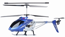 Syma S031 3 Channel Huge Size Outdoor RC Helicopter Ready-to-Fly w/ Gyroscope (Blue)