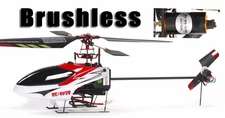 Brushless-Ready 4-CH RC Helicopters