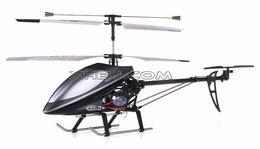 "New Double Horse 9101 Huge 27"" 3-Channel Co-Axial   Helicopter w/ Built in Gyro 450 Sized (Black) RC Remote Control Radio"