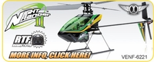Venom Night Ranger II Helicopter Replacement Parts