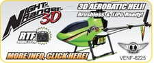 Venom Night Ranger 3D Helicopter Replacement Parts