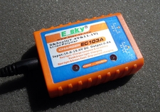 E-Sky EC103A Li-Poly Balancing Charger For 2-cell (7.4V) and 3-cell (11.1V) Li-Poly Packs Esky_EC103ACharger