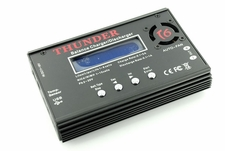 Thunder T6 Smart Balance Charger/Discharger 1-6 Cell Lipo Lithum Polymer 1-15 Cell NiMh w/ USB to PC Data Software