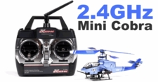Exceed RC Mini Blue Cobra ExceedRC-50H25-MiniCobra-Blue
