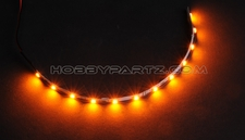 HobbyPartz Yellow 12 LED Lights