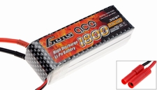 GENS ACE LIPO 1800mAh 25C 11.1V lipo battery pack