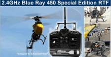 Exceed RC 2.4GHz Blue Ray 450SE [ Special Edition ]