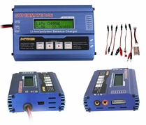 Dynam Supermate DC6 DC Multi Function Balance Charger/Discharger 1-6 cell Lilo/LiPo/LiFe, 1 to 15 cells NiCd NiMH 60P-DYC-1004