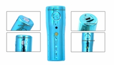 Micro Video Camcorder w/ Panic Alarm 30FPS (Blue)