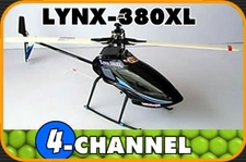 LYNX-380XL 6 Channel 3D CCPM RTF Helicopter
