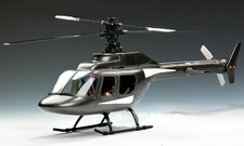 New Jet Ranger 6 CH CCPM 3D Remote Control Helicopter Fiber Glass Scale Cabin w/ Brushless & Lipo Upgrade