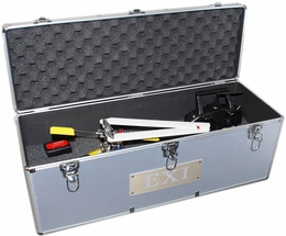 EXI Aluminum Helicopter Carrying Case Perfect For 450 Class RC Helicopters