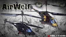 782 Airwolf Helicopter Parts