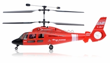 Esky 4 Channel Red US Coast Guard Marine Dauphin RC Helicopter Ready-to-Fly[2.4Ghz]