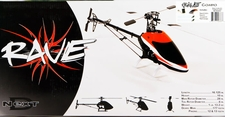 Rave 450 3S RC Helicopter Combo Kit w/ Scorpion 6 Brushless Motor & Next D 325s Carbon Fiber Blade