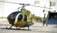 MD530 450� Pre-Painted Glass Fiber Fuselage for 450 Size Helicopters Army